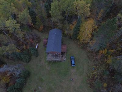 Forest County, Iron Wi County, Langlade County, Lincoln County, Oneida County, Vilas County Single Family Home For Sale: 6304 Clevelands Ln