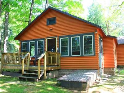 Forest County, Iron Wi County, Langlade County, Lincoln County, Oneida County, Vilas County Condo/Townhouse For Sale: 2510 Martha Lake Rd #4