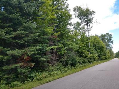 Three Lakes Residential Lots & Land For Sale: On Big Lake Rd #7 Acres