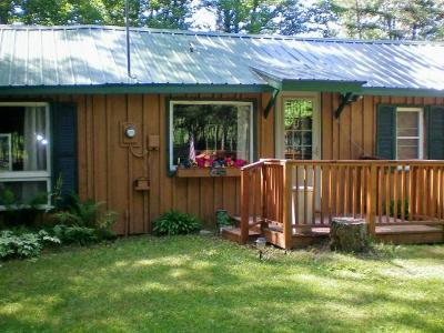 Forest County, Iron Wi County, Langlade County, Lincoln County, Oneida County, Vilas County Single Family Home For Sale: N8610 Hwy 52