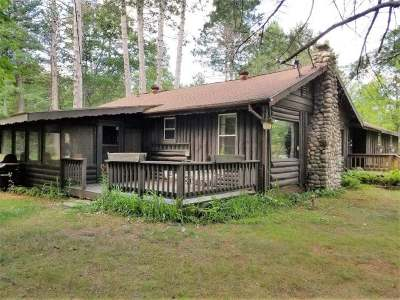 Minocqua Single Family Home For Sale: 11779 Hwy 70