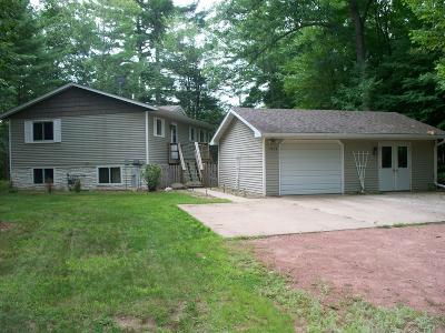Eagle River WI Single Family Home Active O/C: $129,900