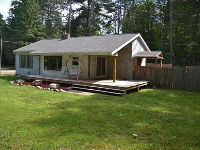 Forest County, Iron Wi County, Langlade County, Lincoln County, Oneida County, Vilas County Single Family Home For Sale: 2838 Lake George Rd E