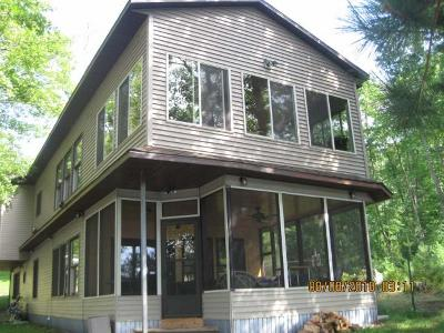 Minocqua Single Family Home For Sale: 7737 Agawak Rd
