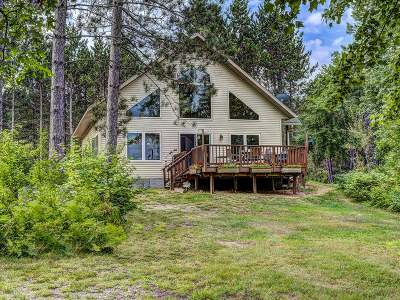 Eagle River WI Single Family Home For Sale: $299,750