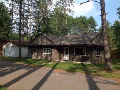 Forest County, Iron Wi County, Langlade County, Lincoln County, Oneida County, Vilas County Condo/Townhouse For Sale: 3069 Lake George Rd E #7
