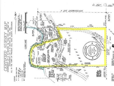 Woodruff WI Residential Lots & Land For Sale: $399,000
