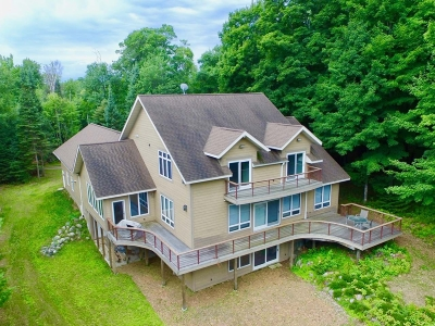 Manitowish Waters Single Family Home Active O/C: 13224 Avenue Of The Balsams