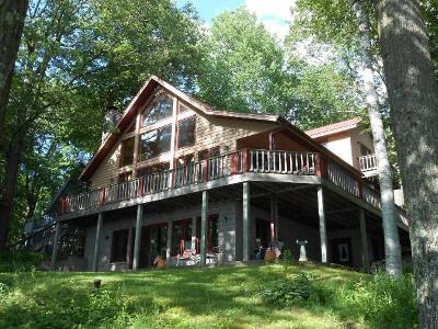 Langlade County Single Family Home For Sale: N9252-46 North Shore Dr