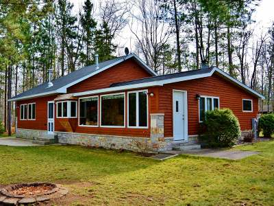 Lac Du Flambeau Single Family Home For Sale: 2971 Lake Breeze Ln