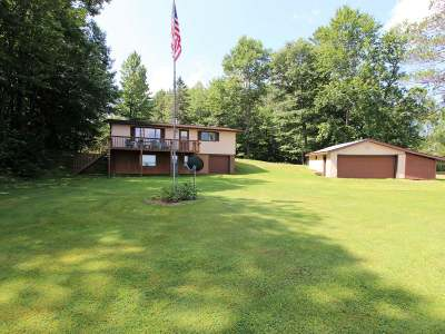 Lac Du Flambeau WI Single Family Home For Sale: $299,700