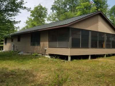 Lac Du Flambeau WI Single Family Home For Sale: $349,900