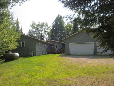 Forest County, Iron Wi County, Langlade County, Lincoln County, Oneida County, Vilas County Single Family Home For Sale: 3159 Fish Lake Ln
