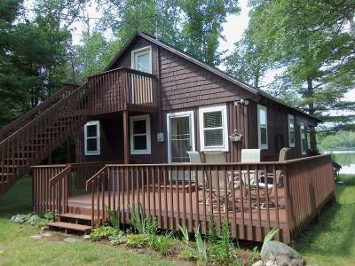 Mercer WI Single Family Home For Sale: $149,900