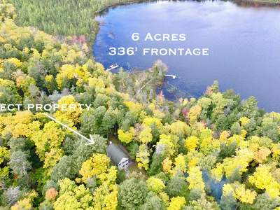 Lac Du Flambeau Single Family Home For Sale: 14306 Muskesin Easement N