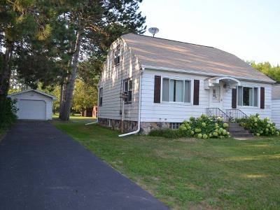 Tomahawk WI Single Family Home For Sale: $114,900