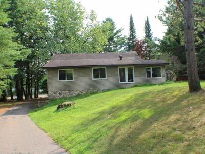 Eagle River WI Single Family Home For Sale: $249,900