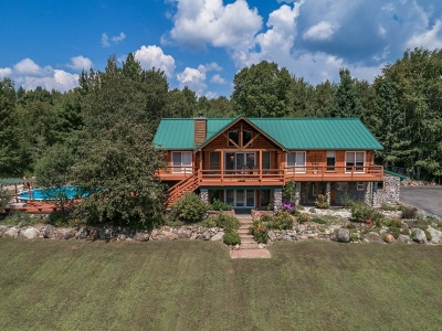 Lincoln County, Price County, Oneida County, Vilas County Single Family Home For Sale: 3051 River Rd S