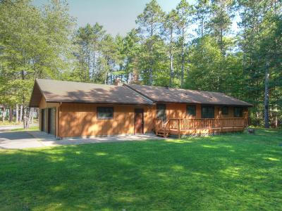 Eagle River WI Single Family Home For Sale: $189,600