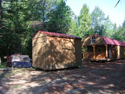 Three Lakes WI Single Family Home For Sale: $49,900