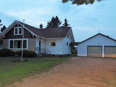 Merrill Single Family Home Active Under Contract: W4714 Cth G