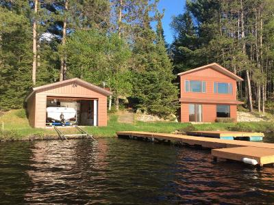 Langlade County, Forest County, Oneida County Single Family Home For Sale: 6689 Whitefish Lake Rd