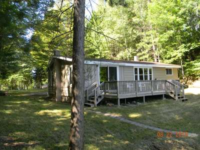 Forest County, Iron Wi County, Langlade County, Lincoln County, Oneida County, Vilas County Single Family Home For Sale: 7715 Typner Lake Rd