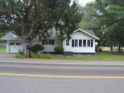Merrill Single Family Home For Sale: W5408 Taylor St