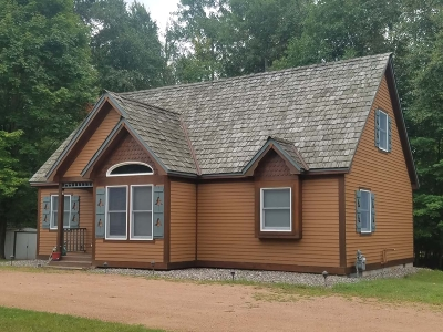 Three Lakes WI Single Family Home For Sale: $174,900