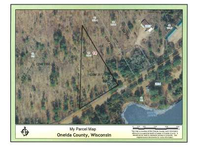 Rhinelander Residential Lots & Land For Sale: Lot 1 River Rd S