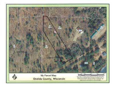Rhinelander Residential Lots & Land For Sale: Lot 2 River Rd S
