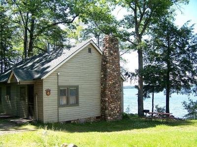 Forest County, Iron Wi County, Langlade County, Lincoln County, Oneida County, Vilas County Single Family Home For Sale: 2970 Oak Ridge Ln #4
