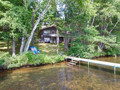 Lac Du Flambeau WI Single Family Home For Sale: $469,000