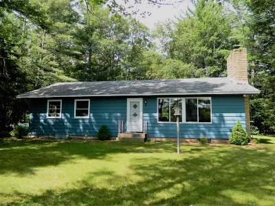Lac Du Flambeau Single Family Home Active O/C: 1340 Indian Waters Ln