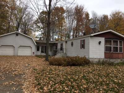 Single Family Home For Sale: W4946 Woodland Rd