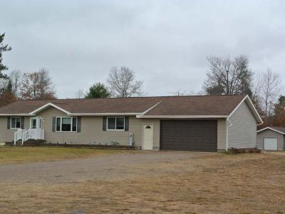Minocqua Single Family Home For Sale: 11748 Hwy 70