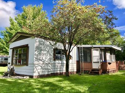 Forest County, Iron Wi County, Langlade County, Lincoln County, Oneida County, Vilas County Single Family Home For Sale: 4823 Willow Dam #43
