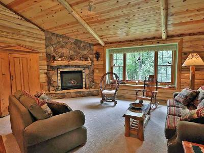 Lac Du Flambeau Single Family Home For Sale: 1495 Koernet Creek Ln