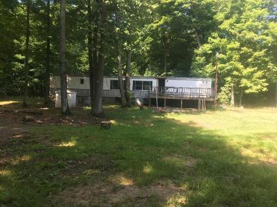 Forest County, Iron Wi County, Langlade County, Lincoln County, Oneida County, Vilas County Single Family Home For Sale: 2881 Columbus Lake Rd
