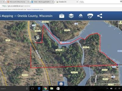 Cassian WI Residential Lots & Land For Sale: $59,900