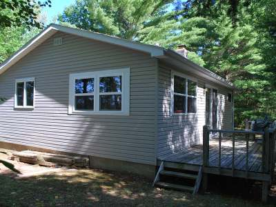Forest County, Iron Wi County, Langlade County, Lincoln County, Oneida County, Vilas County Single Family Home For Sale: 4924 A Flowage Landing Rd
