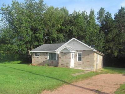 Bryant Single Family Home For Sale: W6928 Hwy 64