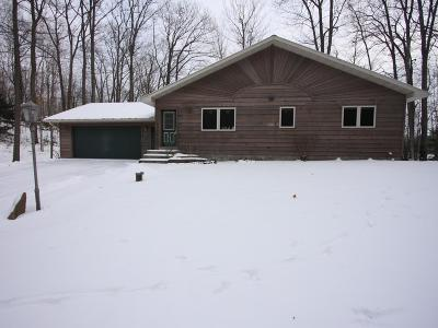 Lincoln County, Price County, Oneida County, Vilas County Single Family Home For Sale: 7011 Lakeview Cr