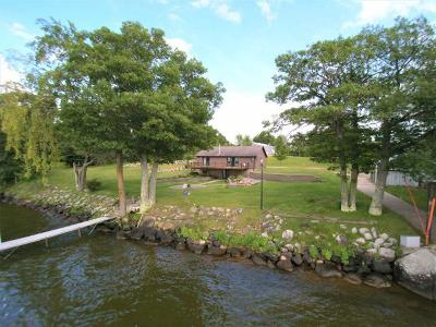 Pelican Lake Single Family Home For Sale: 827 Hwy 45