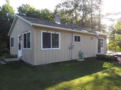 Forest County, Iron Wi County, Langlade County, Lincoln County, Oneida County, Vilas County Single Family Home For Sale: 3287 Round Lake Rd