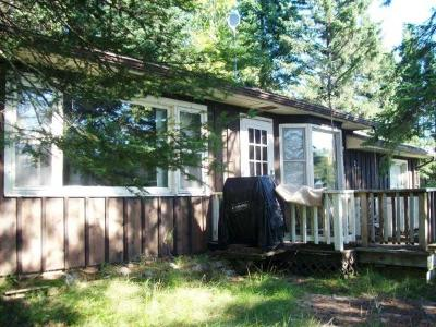 Forest County, Iron Wi County, Langlade County, Lincoln County, Oneida County, Vilas County Single Family Home For Sale: 7594 Bilida Rd