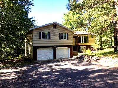 Tomahawk WI Single Family Home For Sale: $325,000