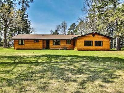 Lac Du Flambeau WI Single Family Home For Sale: $449,700