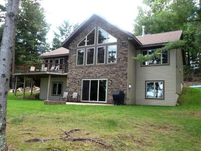 Minocqua WI Single Family Home For Sale: $599,900