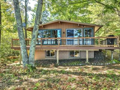 Lac Du Flambeau WI Single Family Home Sold: $378,000
